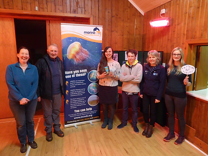 Marine Conservation Society event on Skye in March 2018