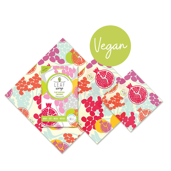 Vegan Wax Wraps 3 pack