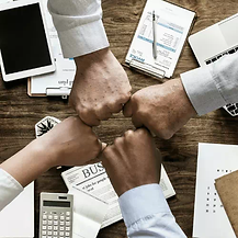 generic stock photo of a team in an office