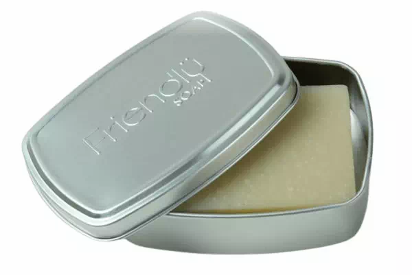 aluminium soap travel tin