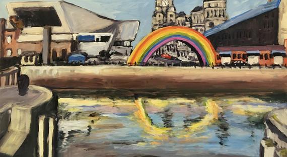 Rainbow Albert dock