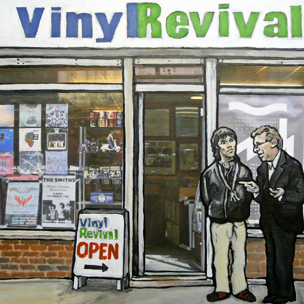 Ian Brown and Tony Wilson