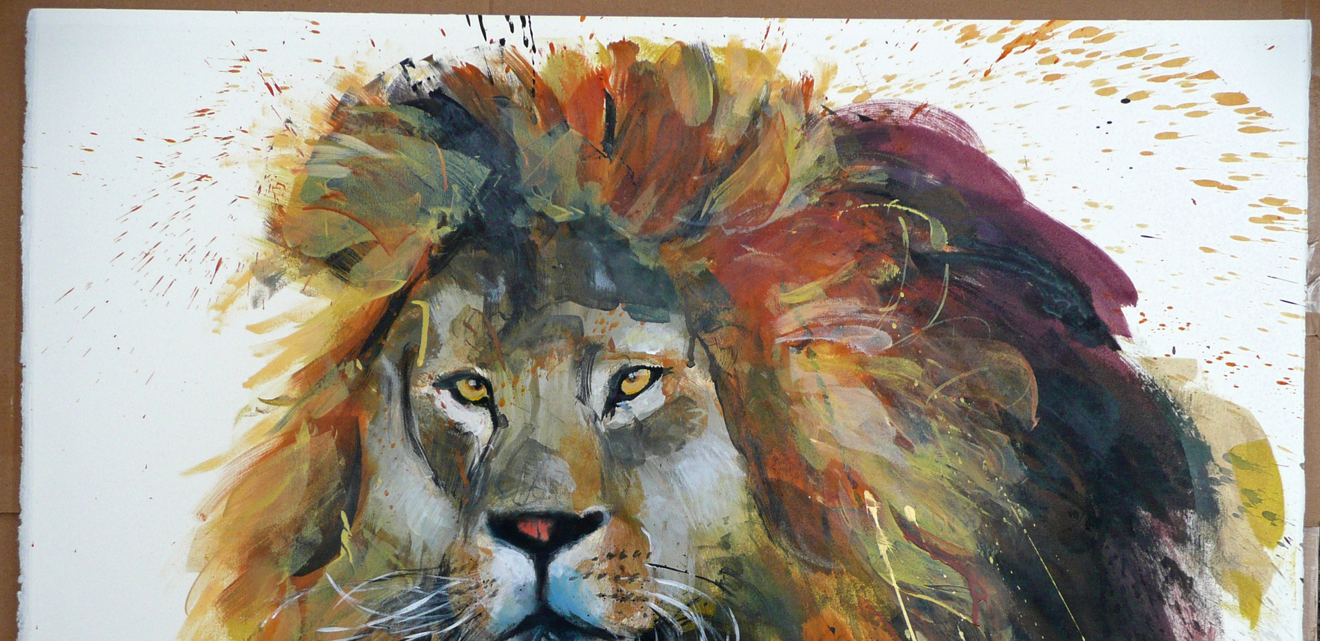 One Lion.