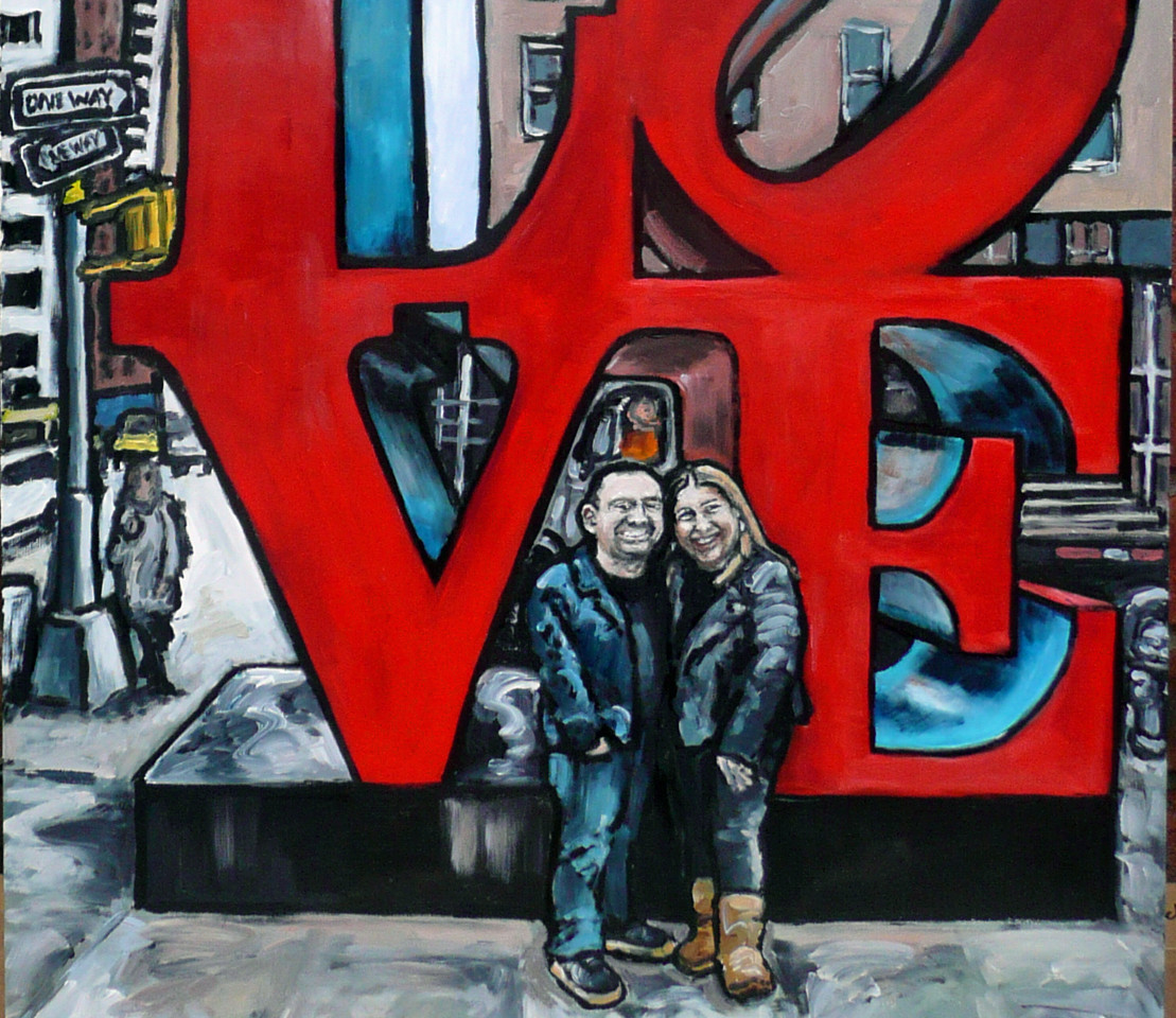 Love - 50 x 120 cm