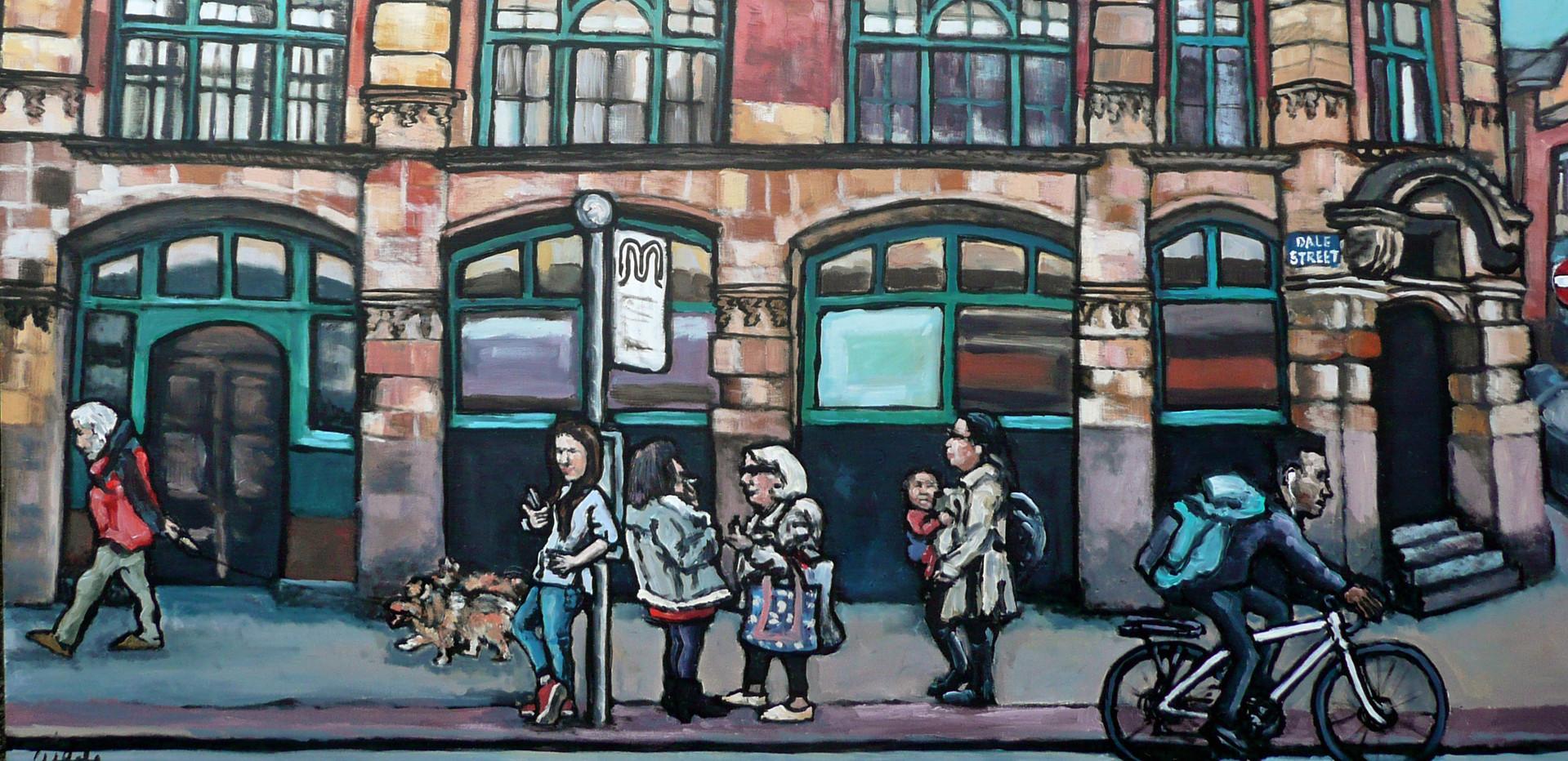 Dale Street - 62 x 76 cm