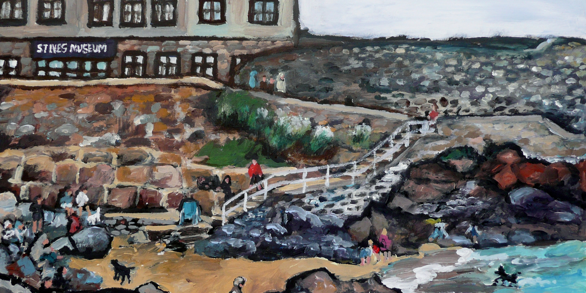 St Ives museum - size 11 x 14 inch