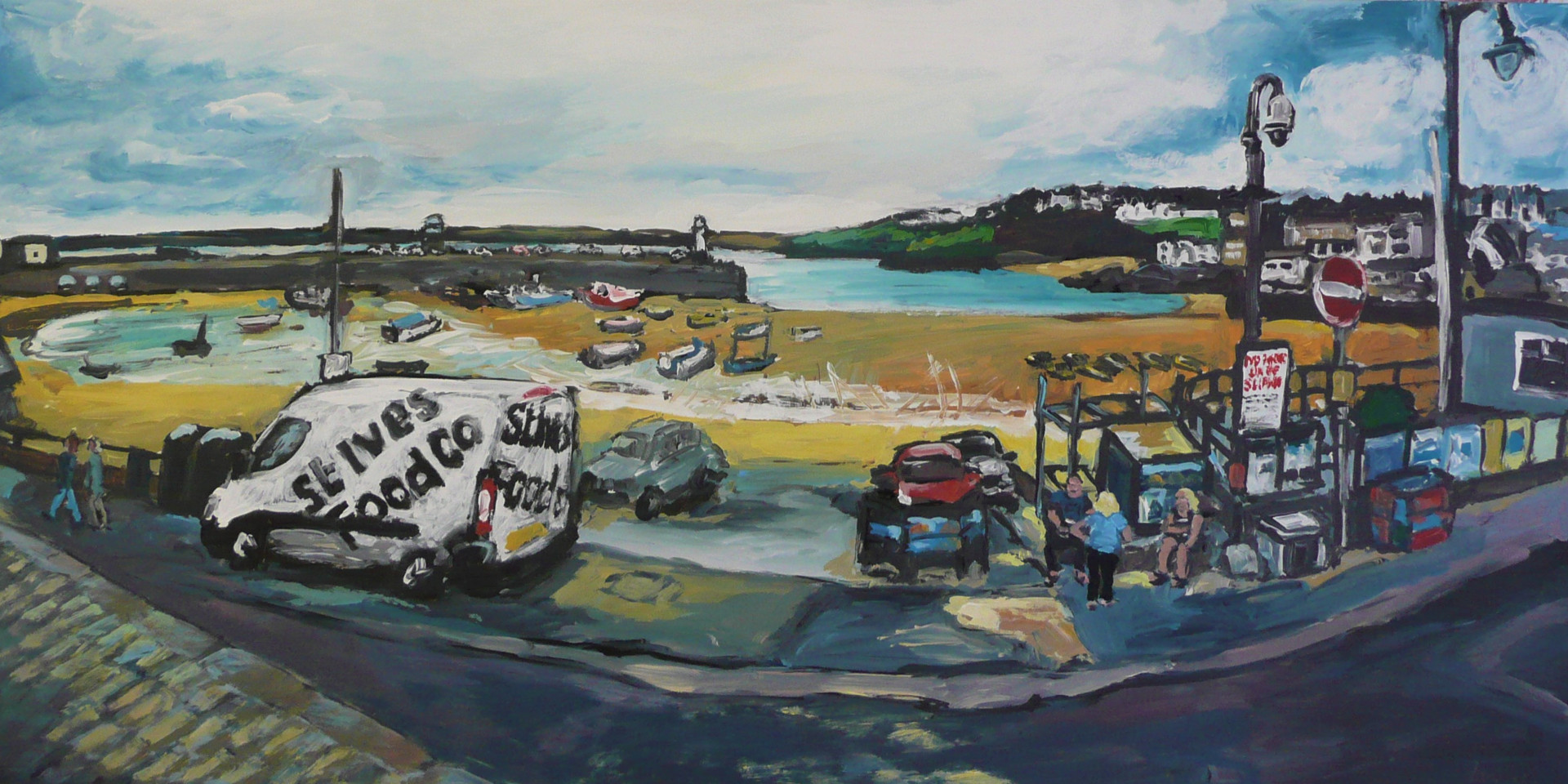 Early hours - 26 x 51 cm.