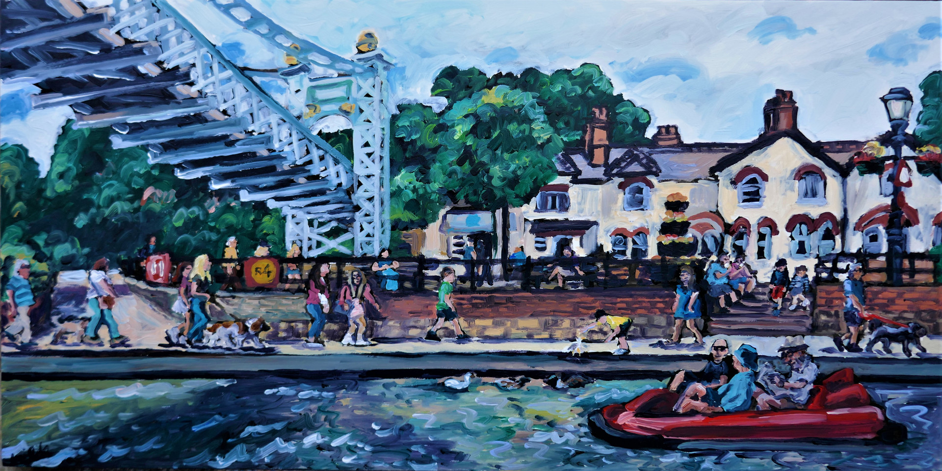 River dee chester 12 x 24 inch