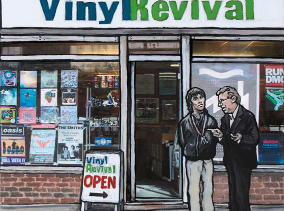Ian Brown and Tony Wilson.