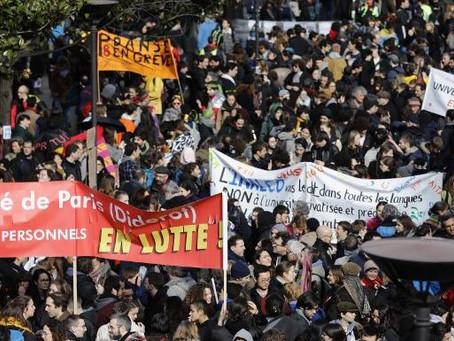 5 mars 2020, très belle mobilisation contre la LPPR, continuons!