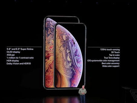 Apple esitles uusi telefone iPhone XS ja iPhone XS Max