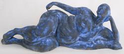 Blue woman (front)