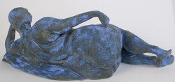 Blue Woman (back)