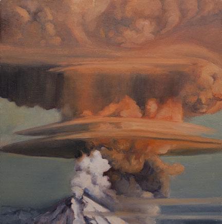 Orange Volcano