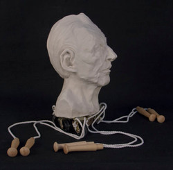 Portable Lucien Freud (side)