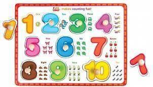 Wooden 1-10 Puzzle