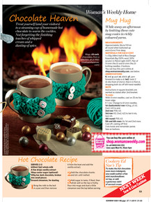 Woman's Weekly magazine tutorial