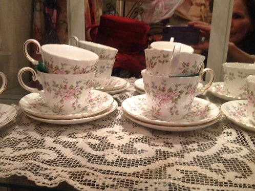 Allyn Nelson Bone china teacup set