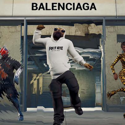 Balenciaga brings digital fashion to Fortnite