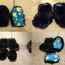 Plushie Hands and Feet