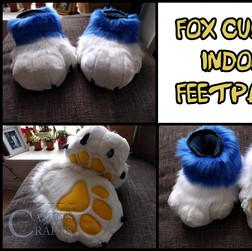 Fox Cubby Feetpaws