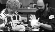 Christopher Lowell 1995 teaching Creativity Classes, Chagrin Falls Ohio