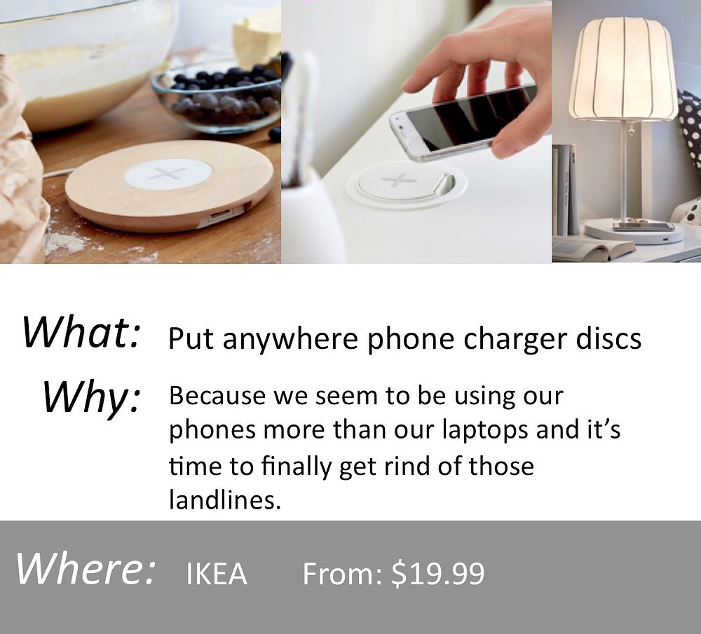 Put anywhere Phone Charger