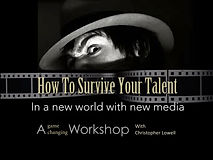 Christopher Lowell Campus Workshop: How to survive your talent.