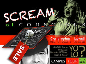 Christopher Lowell's Campus show Scream Of Conscious