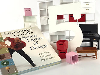 Christopher Lowell's 7 layers of design