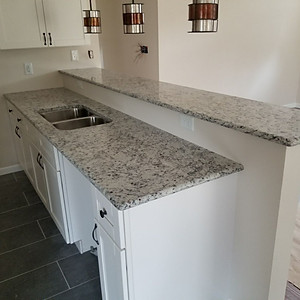 White Ornamental Granite April 2018