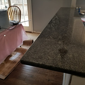 Silver Pearl Granite April 2018