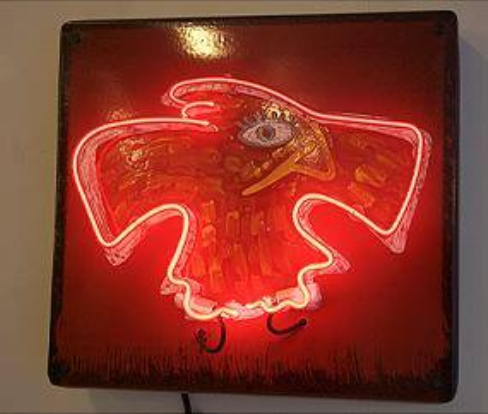 Rise_Up_-_Porclien_enamel_and_Neon_-_Dow