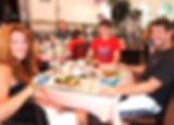 Family dining at the Cafe & Tearoom