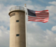 The World War II Lookout Tower tells the story of how the area was impacted by the war.
