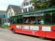 MAC trolley takes visitors past historic homes