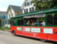 MAC trolley tour through the Historic District