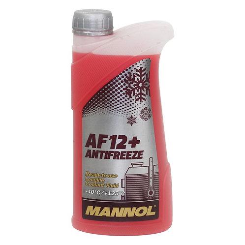 1L MANNOL Longlife Antifreeze AF12+ -40°C
