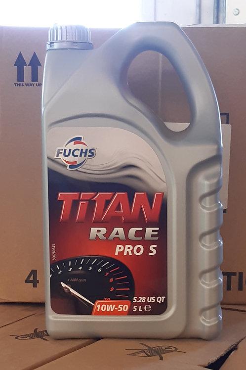 5L FUCHS TITAN RACE Pro S 10W-50