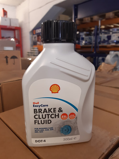 0,5L SHELL BRAKE & CLUTCH FLUID DOT 4 (utgått på dato Juli 2018)