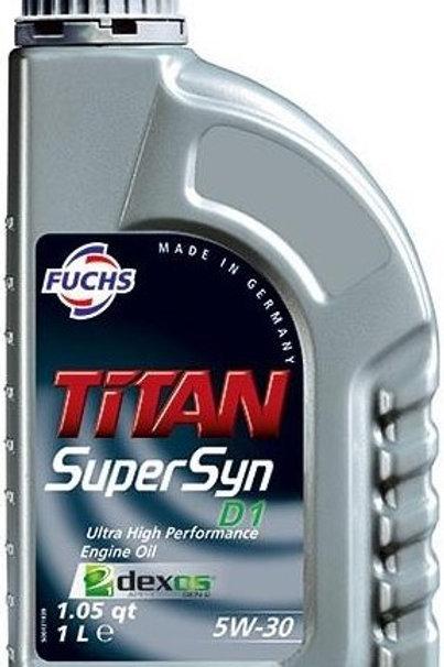1L TITAN Supersyn D1 SAE 5W-30