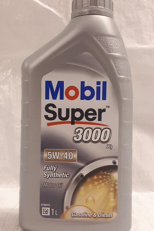1L Mobil Super 3000 X1 5W-40