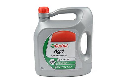 5L Castrol Agri Hydraulic Oil Plus