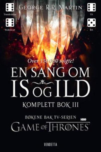 En sang om is og ild. Komplett bok III (Heftet)