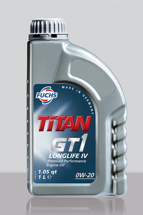 1L TITAN GT1 LONGLIFE IV SAE 0W-20 XTL
