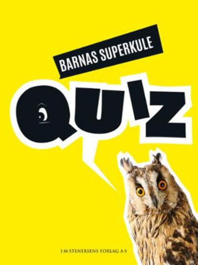 Barnas superkule quiz (Innbundet)