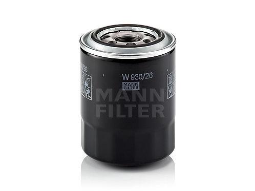 W 930/26 (MANN FILTER - Oljefilter)