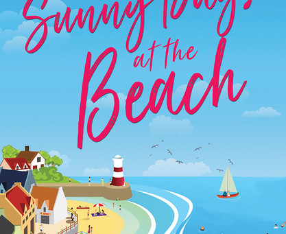 Sunny Days At The Beach by Morton S. Gray.