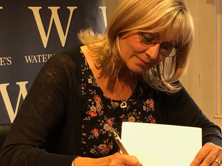 My Waterstones Author Event