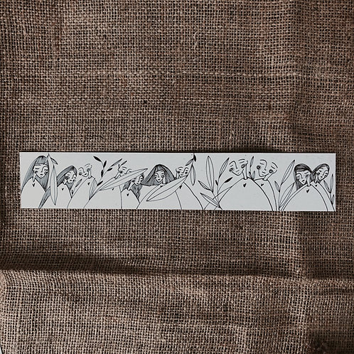 Soul People - Illustrated Bookmark